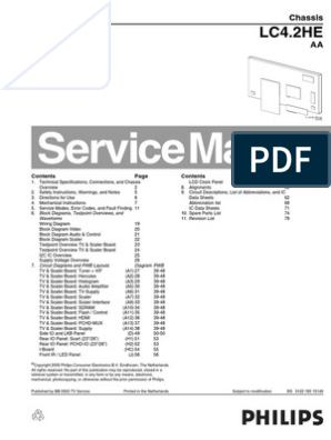 TV Philips LC4 2HE-Service Manual | Soldering | Solder