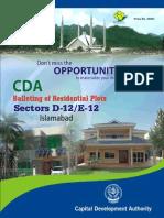 Brochure SectorD12E12