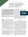 Bio-Inspired Imprecise Computational