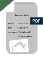 Paper Struktur Atom