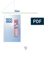 Nokia 3100 Ghid Utilizare
