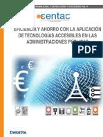 Eficiencia y ahorro con la aplicación de tecnologías accesibles