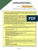 Directrices y Orientaciones Comentario Texto Lengua Castellana y Literatura 2013 2014
