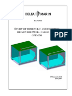 Delta Marin Report - Study of Hydraulic and Electric Driven Deepwell Cargo Pump Options 190407