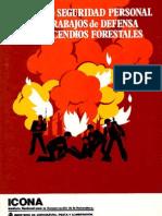 Manual Seguridad Personal Trabajos Defensa Incendios