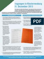 Info Broschüre der Stadtgemeinde Klosterneuburg zur 1. Klosterneuburger Volksbefragung