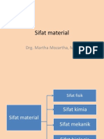 Sifat Material M