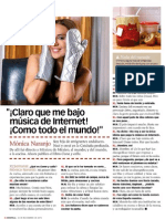 Mónica Naranjo - XL Semanal - 24.11.13