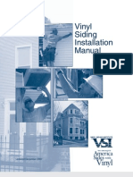 Vinyl Siding Installation Manual (2007)