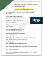 IAS OUR DREAM NOTES COMPILATION PART 3 (17- 23rd nov.2013)