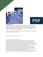 Características de la Evaluación PISA