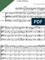 Celtic Alleluia for String Quartet