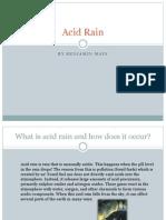 Acid Rain Presentation