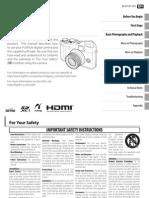 Fujifilm X20 English manual