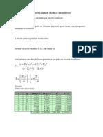 Ajuste Linear de Modelos Geométricos