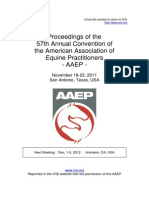 Journal - AAEP - In-Depth (Integrative Medicine (Complementary & Alternative MediciEpaxial Musculature, Motor Control, And Its Relationship With Back Pain in the Horse - Clinical Physical Therapy, Pathological, And Imaging