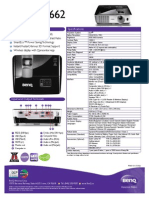 projector specification