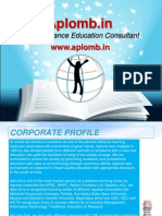 aplomb india-distance education consultant in india
