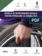 Modele de Intreprinderi Sociale Pentru Persoane Cu Dizabilitati