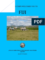 Peace Corps Fiji Welcome Book  |  April 2012(June 2013 CCD Updated)        FJWB411