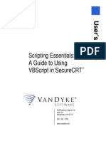 Secure CRT Scripting Essentials