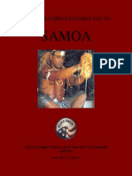 Peace Corps Samoa Welcome Book  |  April 2012(June 2013 CCD Updated)       wswb491
