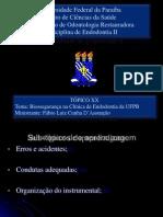 Biosseguranca UFPB Topico Aprendizagem 2013
