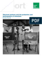Reynolds Andrew - Electoral Systems and the Protection and Participation of Minorities
