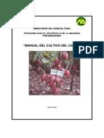 Cacao Manual Cultivo