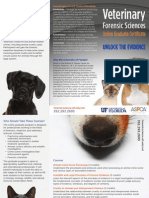 Online graduate certificate in Veterinary Forensic Sciences Brochure - Sukanya Kadyan