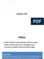 Afakia OD