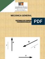 Sistema de Fuerzas Tridimensionales