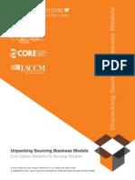 Unpacking Sourcing Business Models