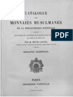 Catalogue des monnaies musulmanes de la Bibliothèque nationale. Khalifes orientaux / publ. à l'ordre du Ministre de l'instruction publique et des beaux-arts par Henry Lavoix
