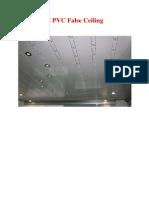 Pvc Ceiling Details