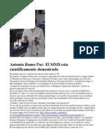Antonio Romo Paz - MMS