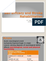 Self Efficacy and Stroke Rehabilitation