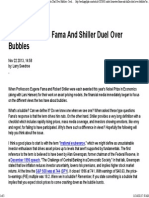 Nobel Laureates Fama and Shiller Duel Over Bubbles - Seeking Alpha