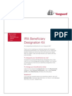 Vanguard IRA Beneficiary Transfer Form