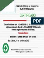 Certificado   CIPA  0003