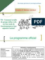 TD Comment La Taille Du Groupe Influe Telle Sur Leur Fonctionnement Et Leur Capacite d Action 2013 2014