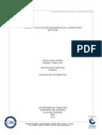 Legislacion Informatica Politicas y Reglas en El Laboratorio de CICOM