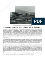 Campbeltown's Kilkerran Gun Battery
