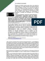 Protocolo Ponce 1924 y las perdidas de Ecuador