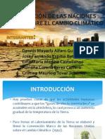 Convencion de Las Naciones Unidas Sobre El Cambio Climatico