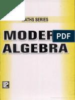 Modern Algebra (Golden Maths Series)