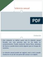 Violencia Sexual .Gpo Muj 2013