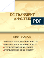 1.Dc Transient Analysis