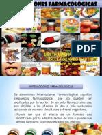 Interacciones Farmacológicas F-F y F-A.