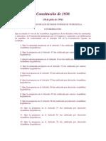 Constitucion de 1936